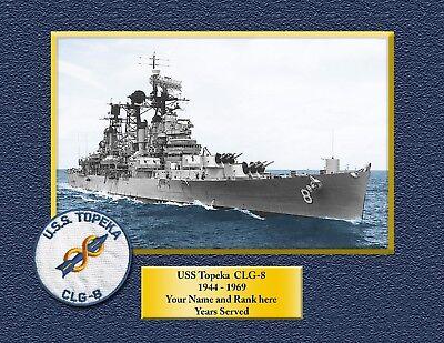 USS TRIPOLI LPH 10 Custom Personalized Print of US Navy Gift Idea 7