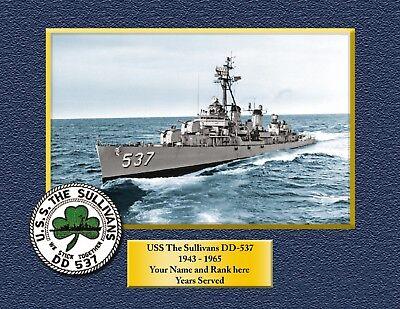 USS TRIPOLI LPH 10 Custom Personalized Print of US Navy Gift Idea 12