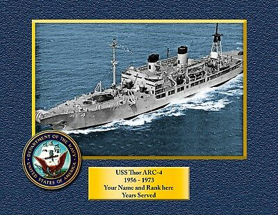USS TRIPOLI LPH 10 Custom Personalized Print of US Navy Gift Idea 10