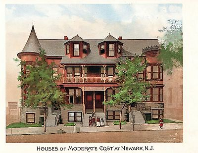 Newark, N J. -   Scientific American Architects and Builders Edition  -  1891 2