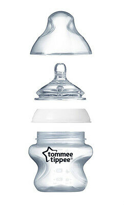 Tommee Tippee Closer to Nature Easi-Vent™ 3-Pack 150ml Bottles - 422430 3