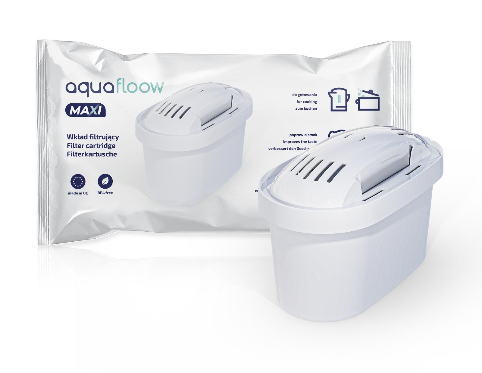 Ersatzkartuschen kompatibel mit Brita Maxtra von AquaFloow Wasserfilter 10 Stück 6