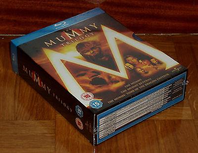Trilogia La Momia 3 Blu-Ray Nuevo Precintado Aventuras Español (Sin Abrir) R2 5