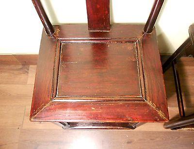 Antique Chinese High Back Chairs (Pair) (5427), Circa 1800-1849 5