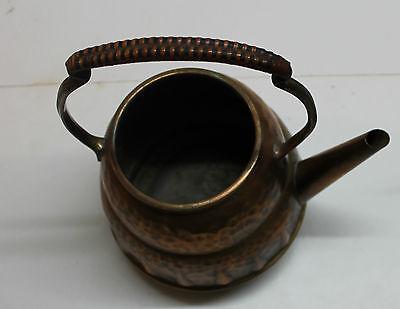 kettle spirit copper art nouveau signed teapot samovar jugendstil arts and craft 4