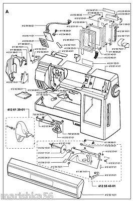 Service manual, viking designer se: sewing parts online.