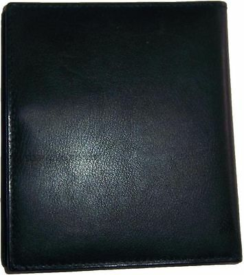 New 40 Card Holder Leather Business Cards ID Case Photo holder; ATM Cards BNWT 7