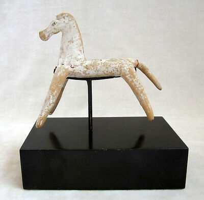 ANCIENT GREEK GEOMETRIC TERRACOTTA HORSE - 8th Century BC 7