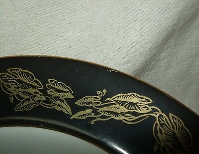 "Set Of 7 Narumi China Occupied Japan ""Golden Night"" Coupe Soup Bowls 4"