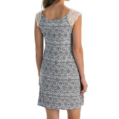 Laura Ashley Womens Stretchy Chemise Lace Night Gown Dress Pajamas NEW 5