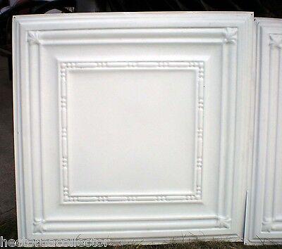 25 pcs Vintage Ceiling Tin Tile 10'x10' Simple Elegant Chic Ceiling Fleur De Li 4