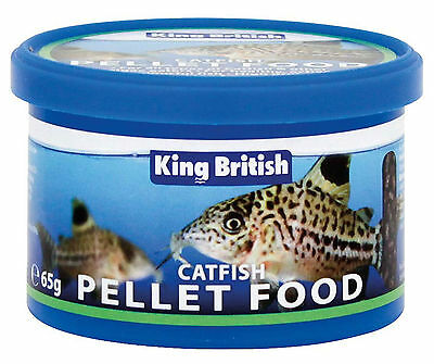 King British Catfish Pellet Food 65g 2