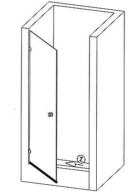 duschdichtung f r 6 8mm glasst rke wasserabweisprofil f r unten streifdichtung eur 12 99. Black Bedroom Furniture Sets. Home Design Ideas
