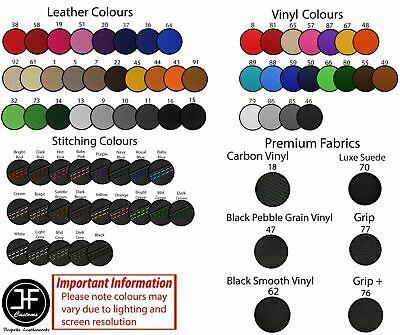 DESIGN 3 RED /& BLACK CUSTOM FITS KAWASAKI NINJA ZX6R 600 98-03 FRONT SEAT COVER