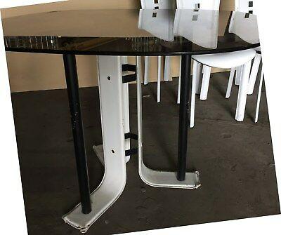 VINTAGE MODERN 1970s 1960s KITCHEN DINING TABLE 4 CHAIRS GREAT TV FILM PROP