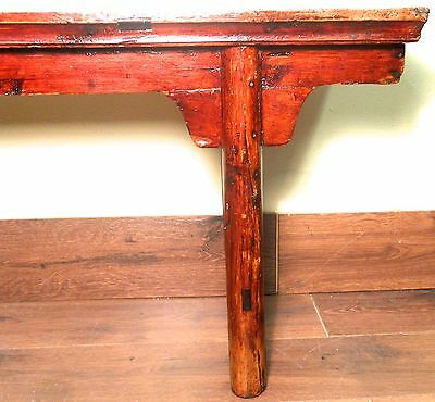 Antique Chinese Ming Bench (3273), Cypress Wood, Circa 1800-1849 8