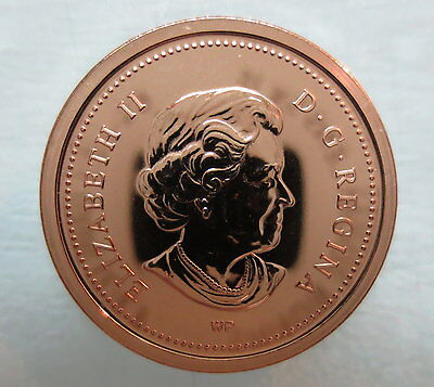 2003Wp Canada 1 Cent Steel Proof-Like Magnetic Penny Coin 2