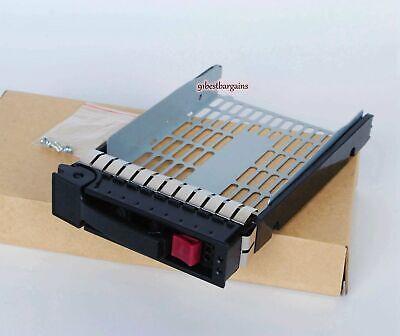 "HP 3.5/"" SATA SAS TRAY CADDY HOT SWAP ML350 ML370 G6 G7 SERVER 373211 LOT QTY 10"