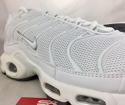f94a3e72f2 ... New NIKE AIR MAX PLUS TN White Cool Gray Tuned Air Shoes 604133-139 c1