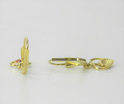 Marienkafer ohrringe gold 585