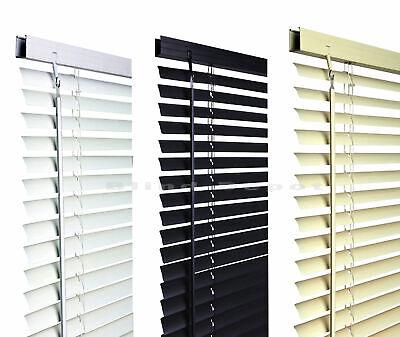 Venetian Blinds in PVC Plain Colours or Wood Grain Effect 3