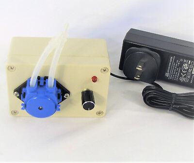 Peristaltic Pump Head Dosing DC 3V/6V/12V/24V Aquarium Lab Pericyclic New 5
