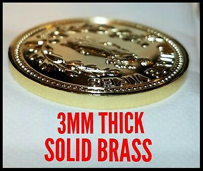 John Wick The Continental Hotel Gold Coin Lot Challenge Coins Solid Brass Reeves 4