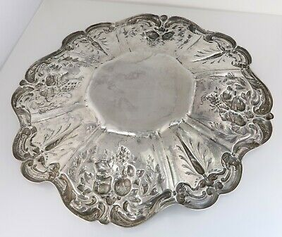 Reed & Barton Francis I Sterling Silver Sandwich Serving Plate X569 541g 3