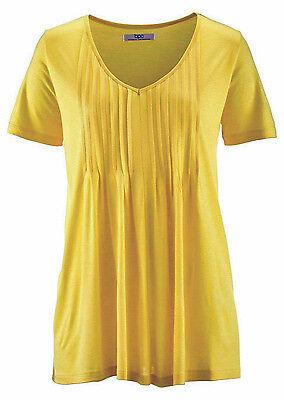Aniston Viskose Shirt Tunika Gr NEU 34-42 mit Biesen 121