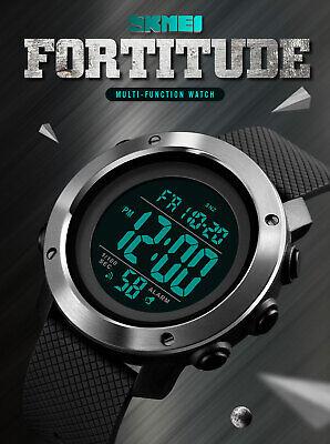 SKMEI Watch Mens/Womens Watches Waterproof Sport Outdoor LED Digital Wristwatch 2