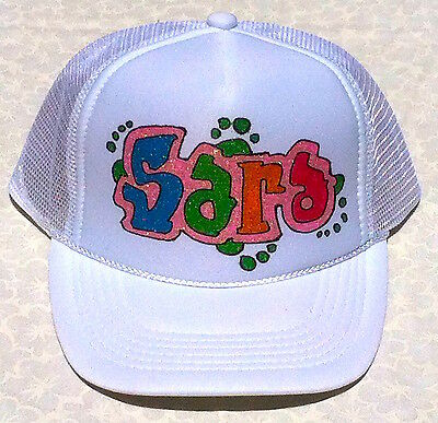 5be230899 SOPHIA YOUR NAME Gift Trucker Hats Caps Personalized Custom Graffiti  Airbrush