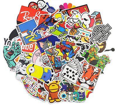 100 Stickers Vinyl Laptop Luggage  Helmet Skateboard Decals 2
