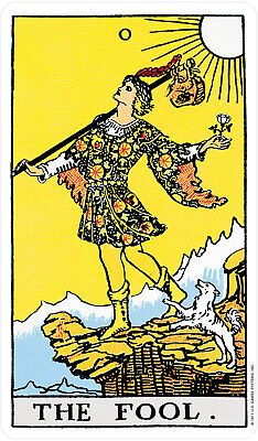 Rider Waite ORIGINAL Tarot Card Cards Deck 78 Cards REGULAR size + Instructions 2