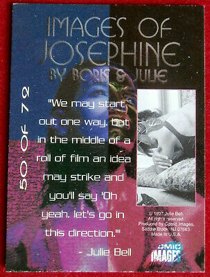 IMAGES OF JOSEPHINE - Individual Card #50 - Comic Images - Fantasy Art - 1997 2