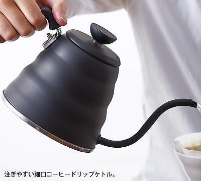 Hario V60 Buono Coffee Drip Kettle 1.2L Mat Black VKB-120-MB VKB-120 MADE JAPAN 7