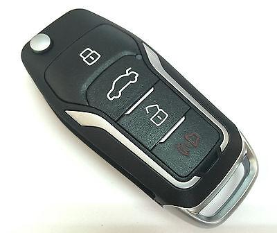 Gt Style Flip Key Remote For Ford F Edge Taurus X Bt Chip Keyless Entry