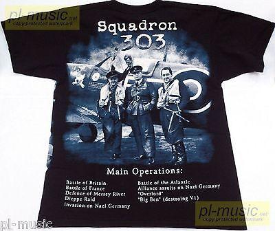 t-shirt SPITFIRE Supermarine Mk Vb / Squadron 303 2