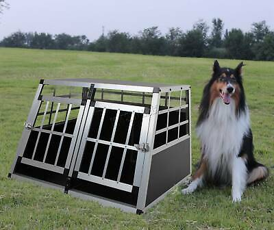 FoxHunter Aluminium Dog Pet Puppy Cage Kennel Travel Transport Crate Carrier BOX 12