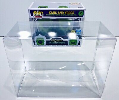 1 Box Protector For Funko Pop! KANG AND KODOS SIMPSONS 2 pack! New Display Cases 9