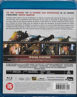 [Blu-ray]  Les Huit ( 8 ) Salopards [Film de Quentin Tarantino]  NEUF cellophané 3