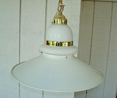 1970's Vintage Mid Century Modern Ceiling Light Fixture 3
