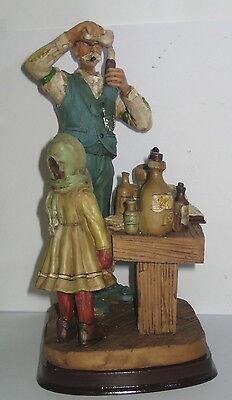 Der Apotheker, Deko Figur, Nostalgie Stil, aus Polyresin, abwaschbar, 21x13x10cm 7