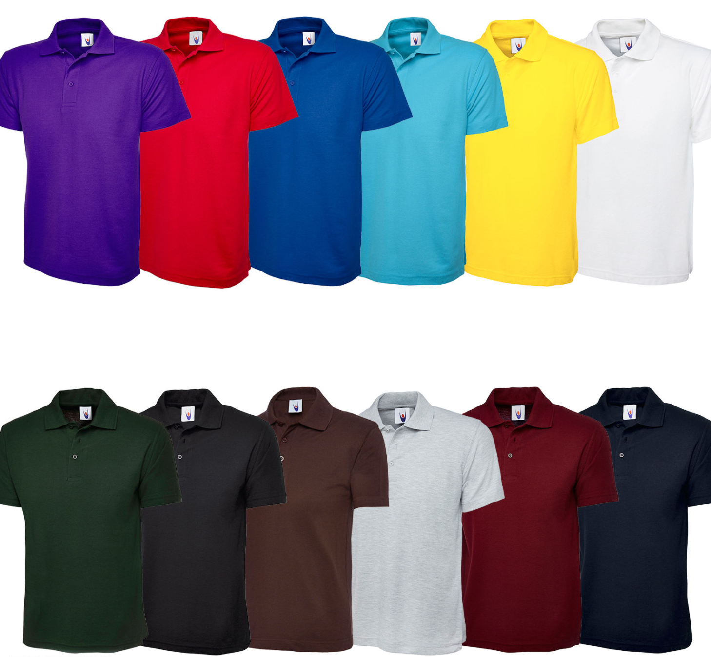 4602f751 1 of 2 Uneek Kids Polo Shirt Children's School Top PE Collared Poloshirt  Boys Girls TEE 2 of 2 See More