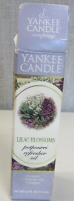 Vintage Yankee Candle Lilac Blossoms Potpourri Refresher Oil W Dropper 17 99 Picclick