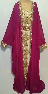 2 pcs wedding  farashas.khaliji farasha.dress.moroccan/indian kaftan.abaya .new 7