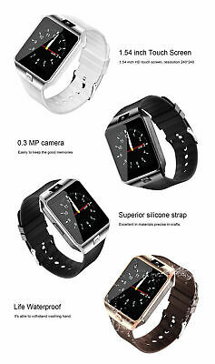 DZ09 Bluetooth Smart Watch Camera Phone Mate GSM SIM For Android iPhone Samsung 2