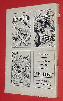 Mon Journal Ivanhoe N°54 08-1964 Nic Reporter / Kocis Le Fils De La Prairie