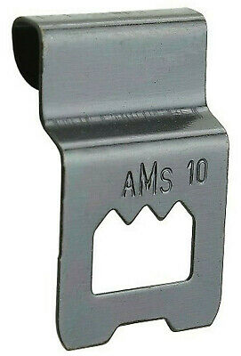 FRICTION SAWTOOTH CLIP OVER HANGER 3mm BOARD PICTURE FRAMING FRAME HANGING AMS 2