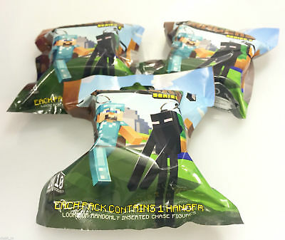 Minecraft Hangers Series 3 Blind Mystery Packs x 2