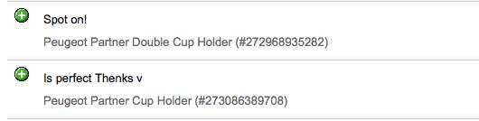 Peugeot Partner Cup Holder